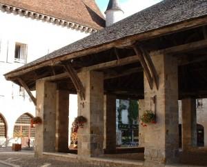 Halle de Martel (place de la Halle) dans le Lot