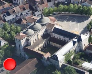 Abbatiale Sainte-Marie à Souillac (rue Louqsor) dans le Lot