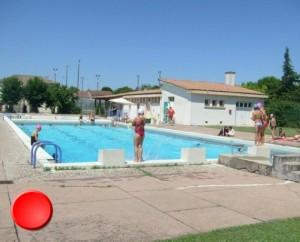 La piscine de Lalbenque dans le Lot