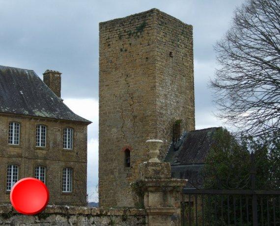 Château de Cavagnac dans le Lot