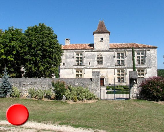 Château de Cieurac dans le Lot
