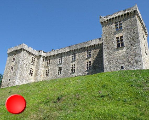 Château de La Coste à Grézels dans le Lot