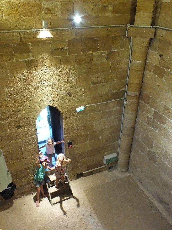 Accès de La Tour de Sagnes à Cardaillac dans le Lot