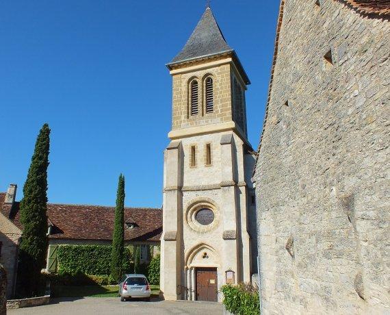 Église Notre-Dame de l'Assomption à Soucirac dans le Lot