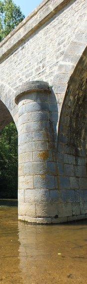 Pont d'Espagnac à Espagnac-Sainte-Eulalie dans le Lot
