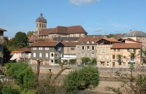 Église Saint Sauveur à Figeac dans le Lot