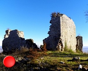 Ruines Château de Taillefer à Gintrac dans le Lot