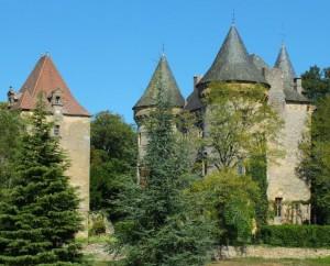 Château de Montcléra dans le Lot