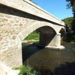 Camboulit. Le pont du Coustal sur le Célé