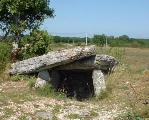 Dolmen de Magès à Rocamadour dans le Lot