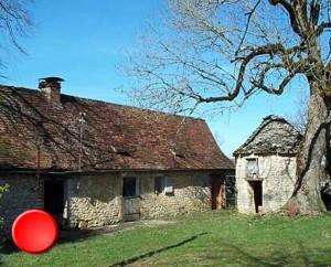 Hameau de Vidille à Frayssinet dans le Lot