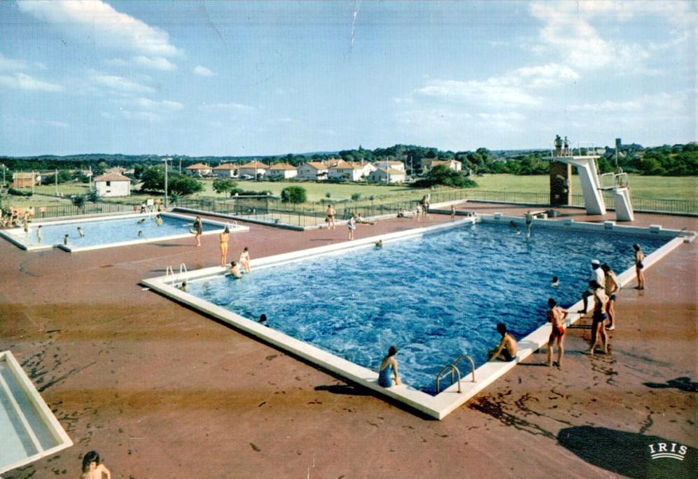 Ancienne piscine de Gramat dans le Lot