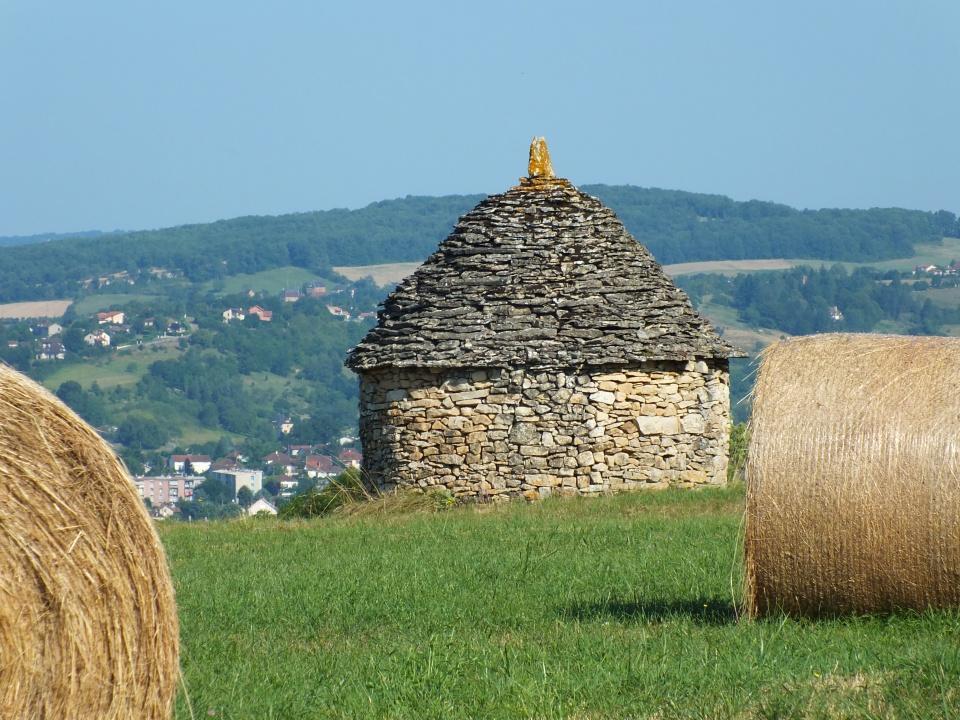 Cazelle sur les hauteurs de Figeac dans le Lot (Lavayssière)