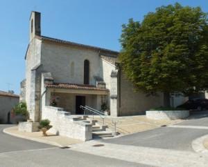 Église de Sainte-Alauzie dans le Lot