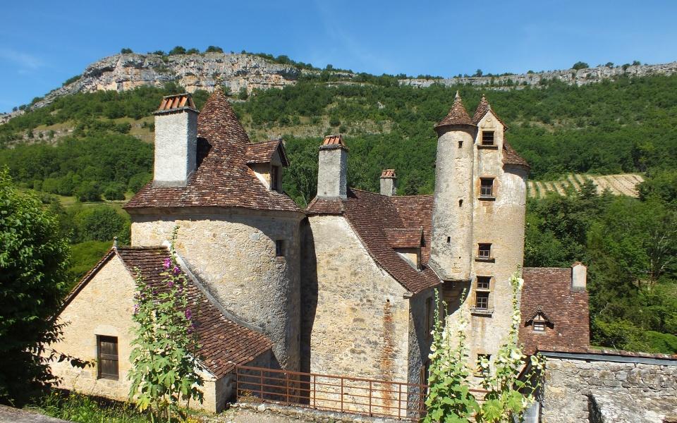 Château de Limargue à Autoire dans le Lot