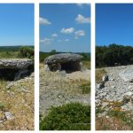 Gréalou. Les 3 dolmens du Pech Laglayre