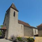 Calvignac. L'église Saint-Étienne