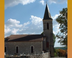 Église Saint-Martin à Berganty dans le Lot
