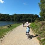 Sénaillac-Latronquière. Le tour du lac du Tolerme à vélo