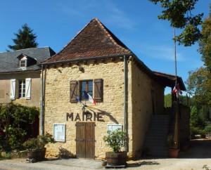 Mairie de Fajoles dans le Lot
