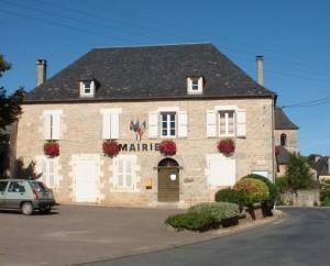 Mairie de Cuzance dans le Lot
