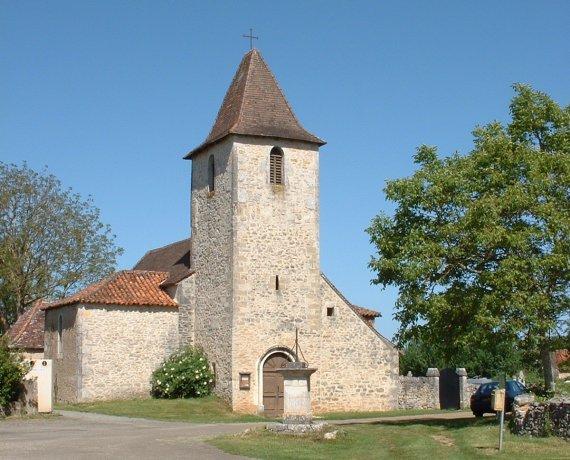 Église Saint-Maurice à Flaujac-Gare (Scellés)