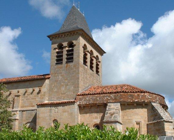 Église Saint-pierre à Fourmagnac