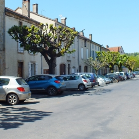La Rue du Sol de Trémeille à Saint-Céré dans le Lot