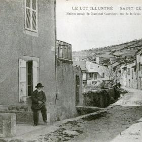 La Rue de la Croix de Lagarde à Saint-Céré dans le Lot