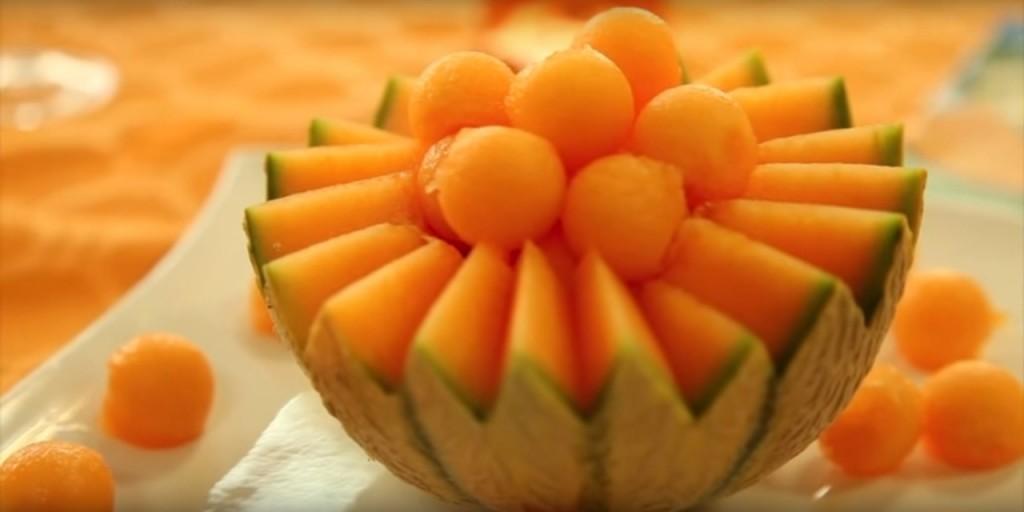 Le melon du Quercy - Préparation