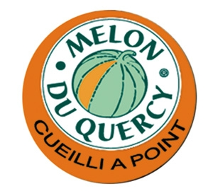 "Le sticker ""Melon du Quercy"""