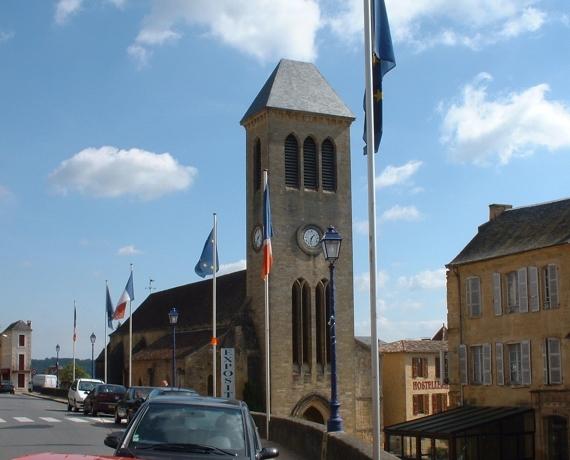 Église des Cordeliers à Gourdon dans le Lot