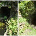 Capdenac. La Fontaine Gauloise & la Fontaine de César