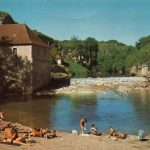 Moulin du château de Cabrerets dans le Lot