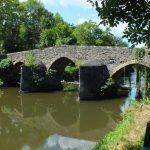 Bagnac-sur-Célé. Le pont médiéval