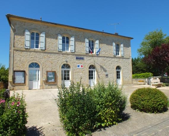 Mairie de Lacapelle-Cabanac dans le Lot