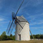 Sainte-Alauzie. Le moulin à vent de Boisse