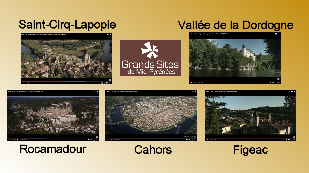 Témoignages - Grands Sites Midi-Pyrénées - Lot