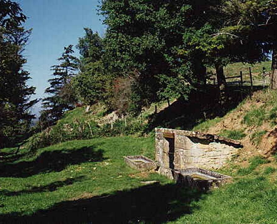 Circuits randonnée pédestre - Alvignac - Le grand tour d'Alvignac-les-Eaux - 15km (la fontaine des 2 moulins à Alvignac)
