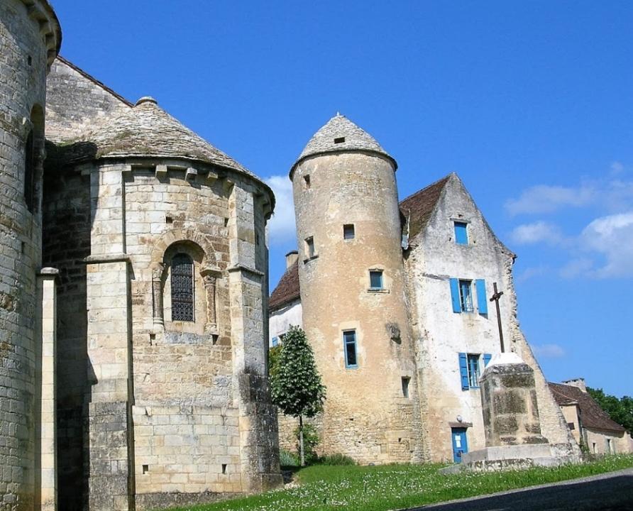 Circuits randonnée pédestre - Les Arques - Circuit de Ladoux - 7km (le château du Doyen aux Arques)