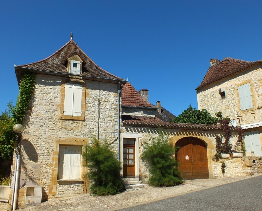 Circuits randonnée pédestre - Cazals - Circuit du Château de Cazals - 5km (belle demeure à Cazals)