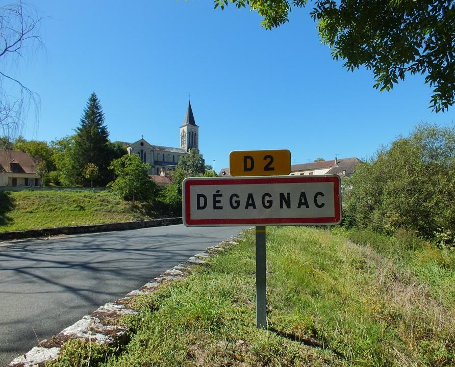 Circuits randonnée pédestre - Dégagnac - Circuit de la Croze - 10km (le bourg de Dégagnac)