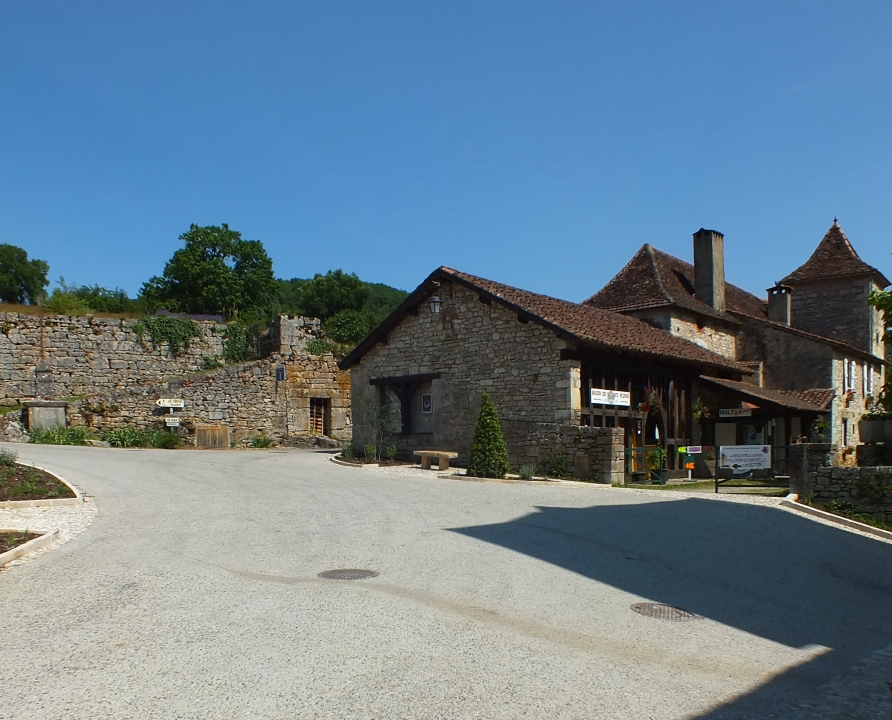 Circuits randonnée pédestre - Espagnac-Sainte-Eulalie - La balade du Prieuré d'Espagnac - 10km (maison des passants pèlerins)