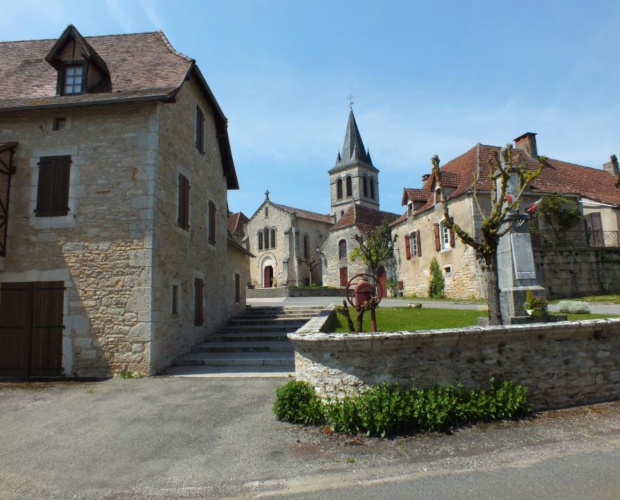 Circuit VTT - Espédaillac - Au coeur du Triangle Noir - 18km (le bourg d'Espédaillac)
