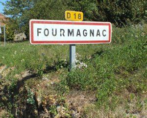 Communes - Fourmagnac - - - Panneau du village de Fourmagnac