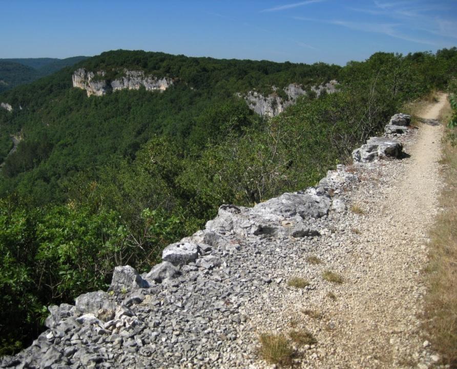Circuits randonnée pédestre - Marcilhac-sur-Célé - Circuit de Marcilhac-Saint-Sulpice - 19km (sur les hauteurs de Marcilhac-sur-Célé)