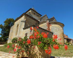 Circuit VTT - Salviac - Balade Entre l'Ourajou et le Palazat - 22km (Église Saint-Pierre à Rampoux)