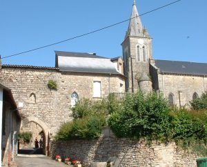 Circuit VTT - Sousceyrac (Sousceyrac-en-Quercy) - Les Jardins du Ségala - 25km (Église de Sousceyrac)
