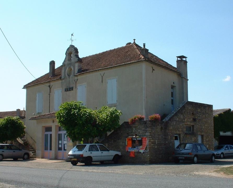 Mairies - Anglars-Juillac - Ancienne mairie (Les Tourondels) - Vue générale de la mairie