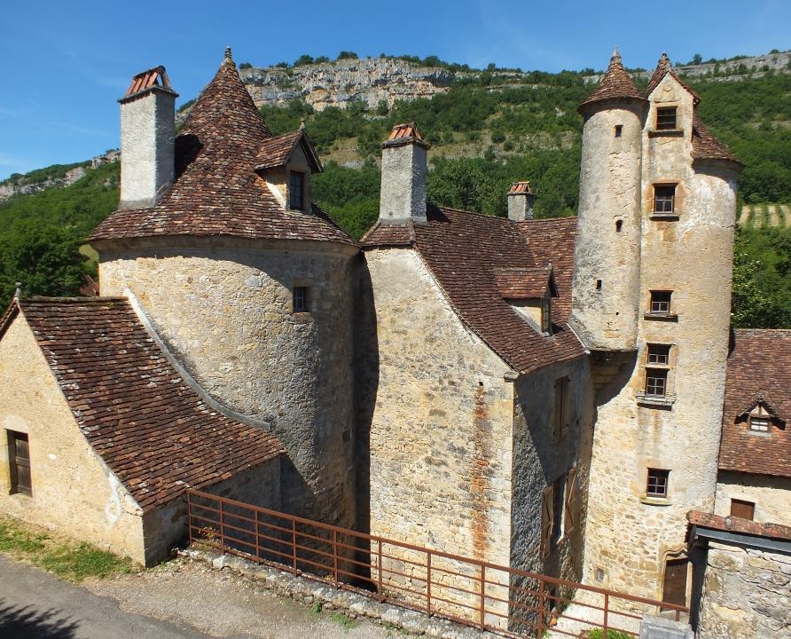 Demeures & manoirs - Autoire - Manoir dit Château de Limargue -